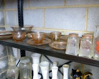 Depression glass and more