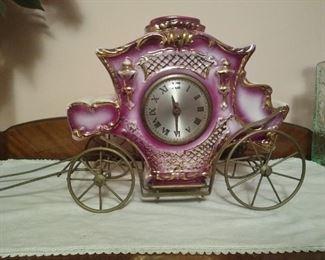 Ornate house clock