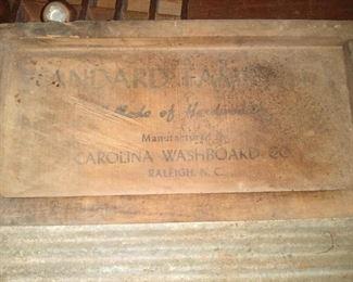 Carolina Washboard Co., Raleigh