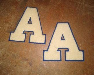 "Asheboro ""A"" Letterman's jacket"
