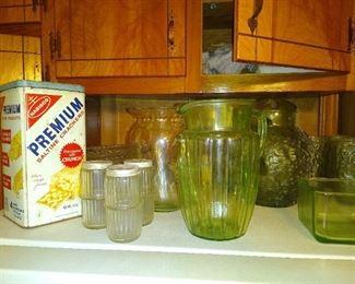 Early Hoosier jars