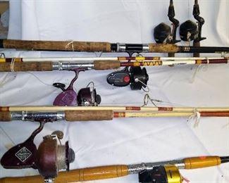 Assorted fishing gear