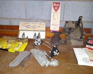 Vintage archery supplies