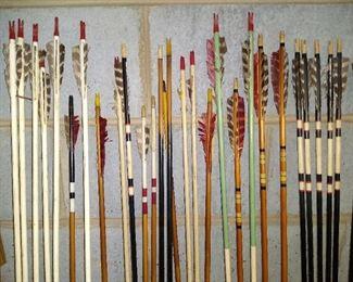 Lots of vintage arrows