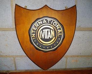 Large, heavy brass Civitan plaque