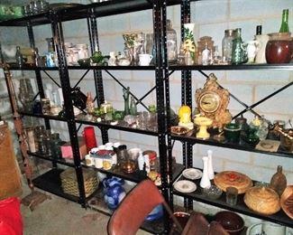 Glassware and ceramics