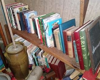 Large assortment of books/ annuals