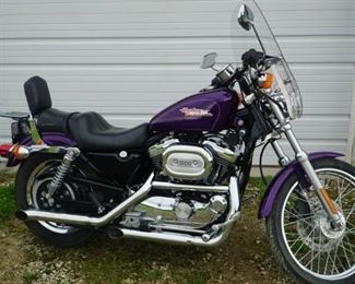 2001 Harley Davidson Motorcycle Sportster 1200 with mileage 17,627  a must-see!!!!!