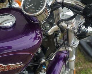 2001 Harley Davidson Motorcycle Sportster