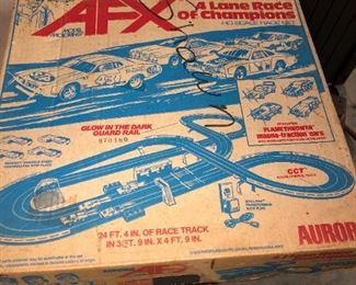 AFX RACE CAR SET