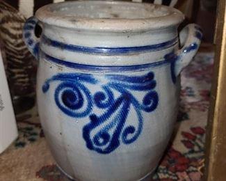 Painted Blue Crockware