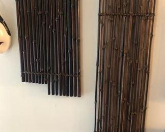 Vintage Ikebana Bamboo Matts