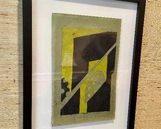 John Dalgliesh - original litho - fromt he UVA school of Architecture