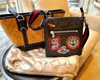 Handbags: Vintage Aigner Handbag in perfect condition. Gucci, Cole Haan, Marc Jacobs, Coach, Louis Vuitton...