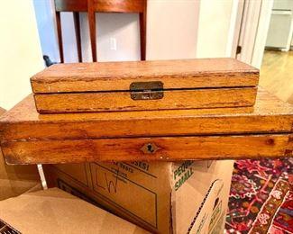 Antique medical tool kits