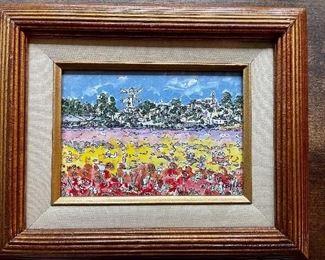Kimm Byers original watercolor! LaJolla California!