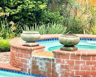 Planters only...the pool conveys! lol