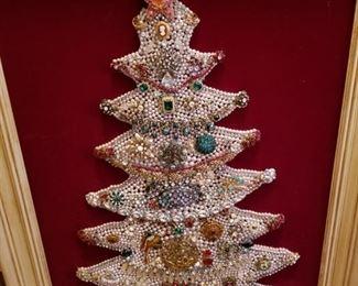Beaded Christmas Tree