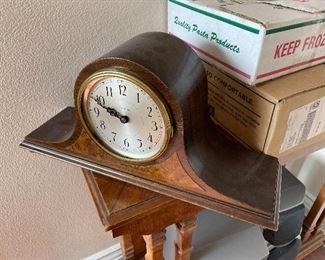 Nice mantel clock...