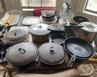 Several different size skillets - Lodge etc