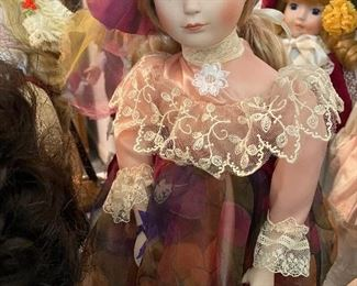 Dolls of all sorts