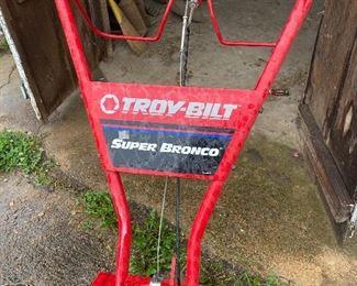 Troy-Bilt Super Bronco Tiller
