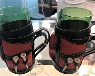 Golf Themed Cup Holders