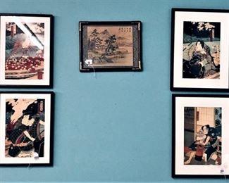 Japanese Framed Prints