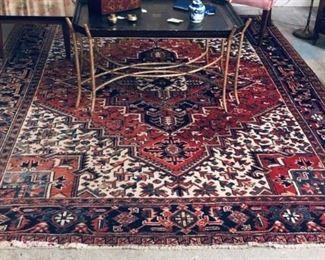 Oriental Basket Patterned Rug