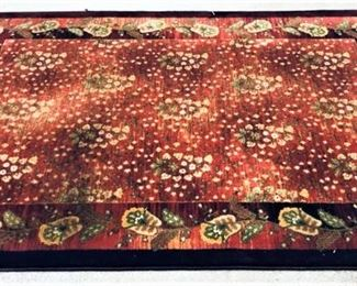 Red and Green Rug