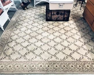 Rug with Leaves