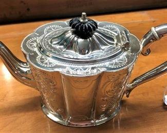 Silverplate Tea Pot