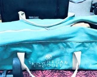 Skowhegan Croquet Set in Canvas Bag