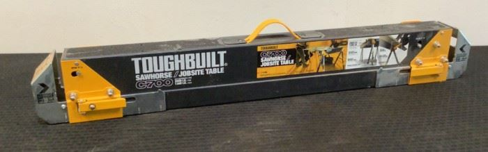 Located in: Chattanooga, TN MFG Toughbuilt Model C700 Sawhorse **Sold As Is Where Is**