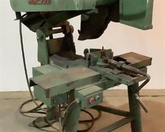 """Located in: Chattanooga, TN MFG Zip-Cut Power (V-A-W-P) 230/460V - 60Hz - 19.2/9.6A - 3P Metal Cutting Saw Size (WDH) 37""""W x 52""""D x 63""""H **Sold as is Where is**  SKU: A-4 Unable To Test"""