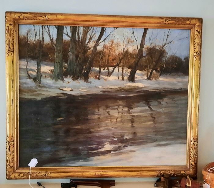 Charles Gruppe Painting