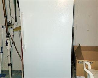 Tall upright freezer
