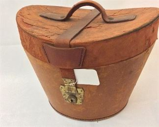 """Knox Top Hat with Box, Knox Hat Co. New York, 6 3/4"""" H."""