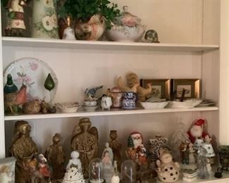 Christmas, painted porcelain