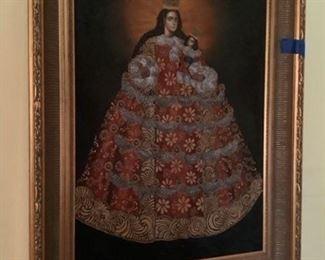 Original oil painting religious