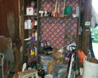 Cabinet in garage