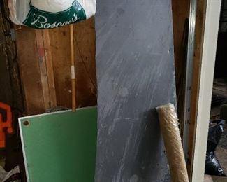 Large piece of slate