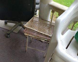 3 piece metal stacking tables