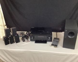 Home Audio Pioneer and Bose