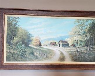 Arnold Vail, Texas artist, oil painting