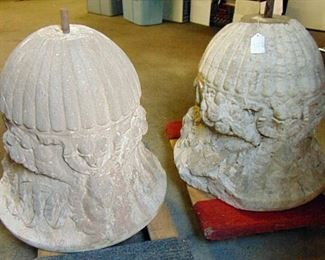 18th Century carved stone
