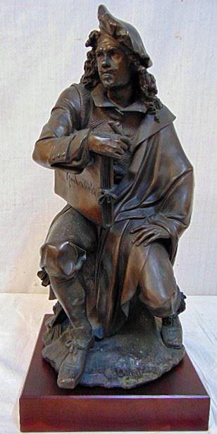 Albert CarrierBelleuse Rembrandt bronze
