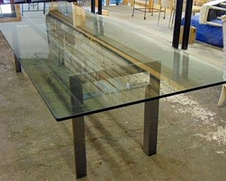 Carlo Scarpa Doge dining table, also have coffee table