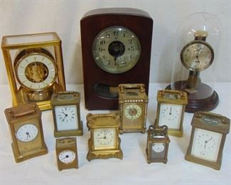 Great selection of clocks