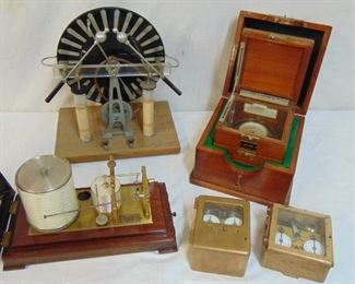 Interesting collection of various electromechanical devices